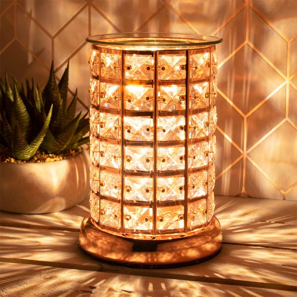 DESIRE AROMA LAMP ROSE GOLD
