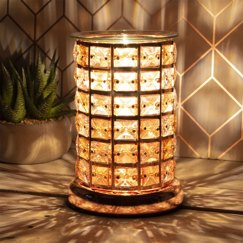 DESIRE AROMA LAMP AMBER/CLEAR