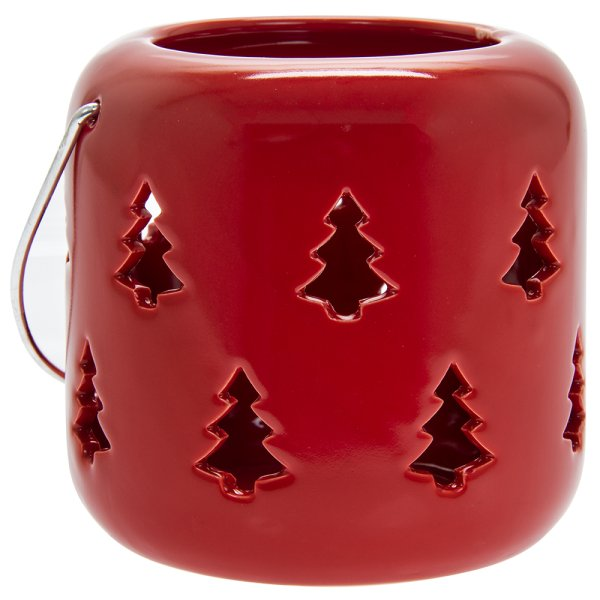 XMASTREE RED LANTERN12CM