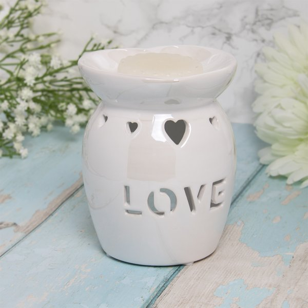 WAX/OIL WARM LOVE WHITE LUSTER