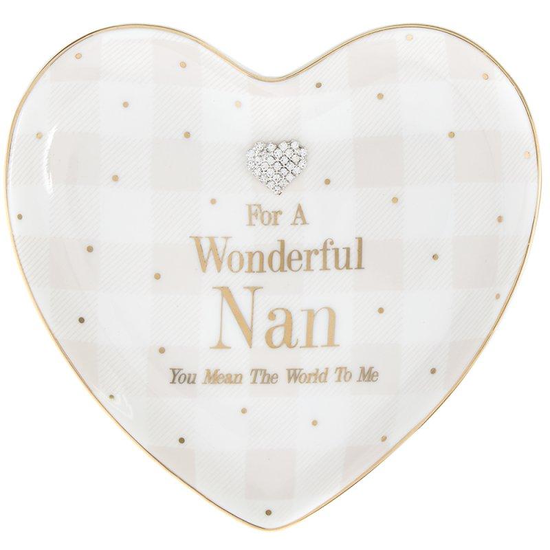 MAD DOTS NAN HEART DISH
