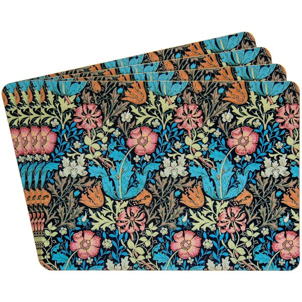 COMPTON PLACEMATS SET OF 4