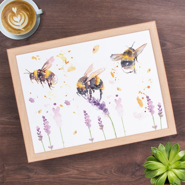 COUNTRY LIFE BEES LAPTRAY