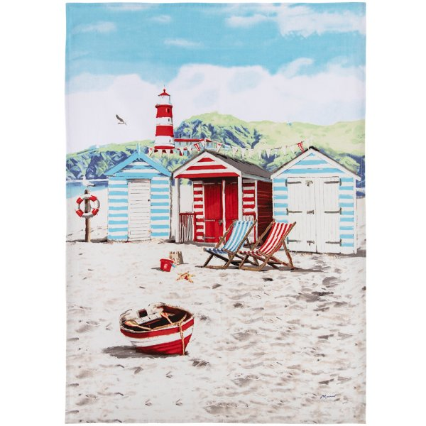 SANDY BAY TEA TOWEL