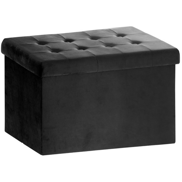 BLACK VELVET FOLDING BOX LARGE