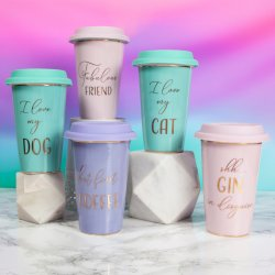 Lets Party Travel Mugs on Social Media