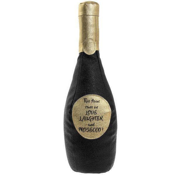 PROSECCO BOTTLE DOORSTOP