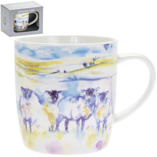 COUNTRY LIFE SHEEP MUGS