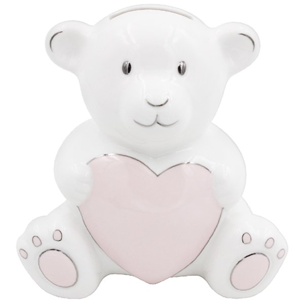 PINK TEDDY MONEY BANK