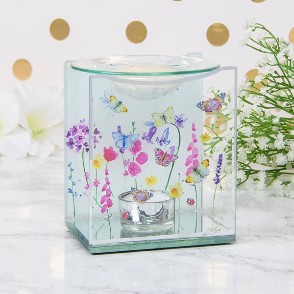 BUTTERFLY GARDEN OIL WARMER