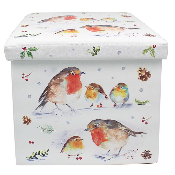 WINTER ROBINS FOLDINGSTORBOX