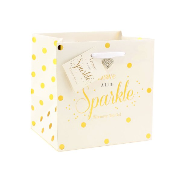 MAD DOTS SPARKLE GIFT BAG SML