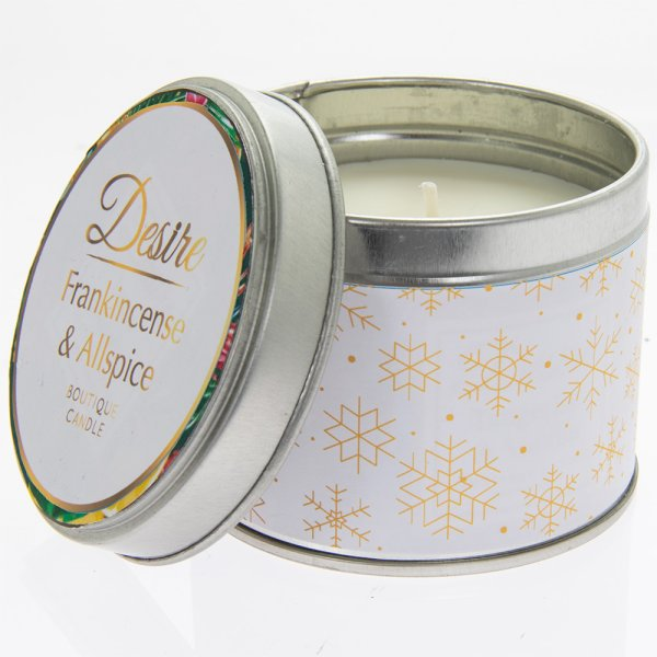 DESIRE FRANKINCENSE TIN CANDLE