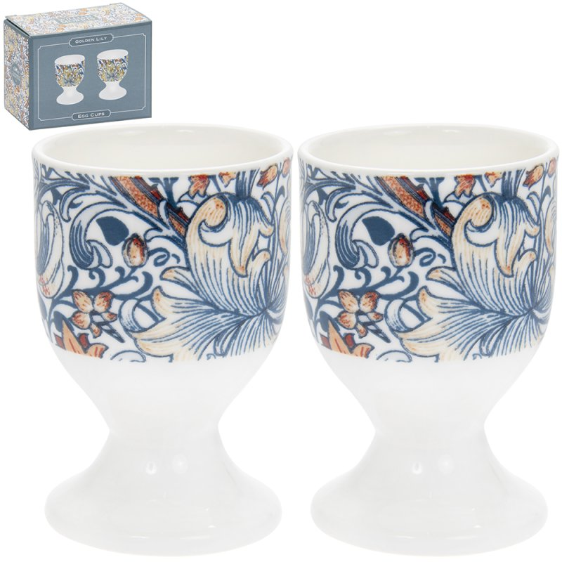 GOLDEN LILY EGG CUPS