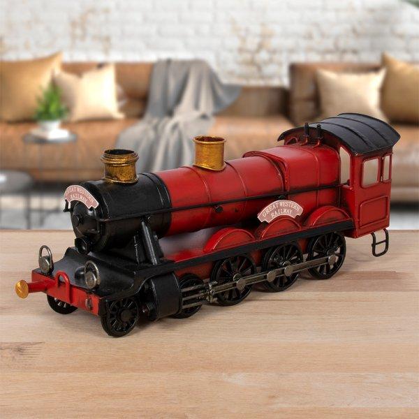 VINTAGE TRAIN RED