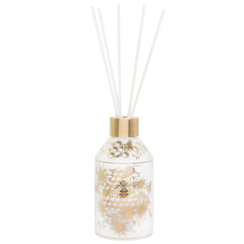 HONEYCOMB BEES DIFFUSER GOLD