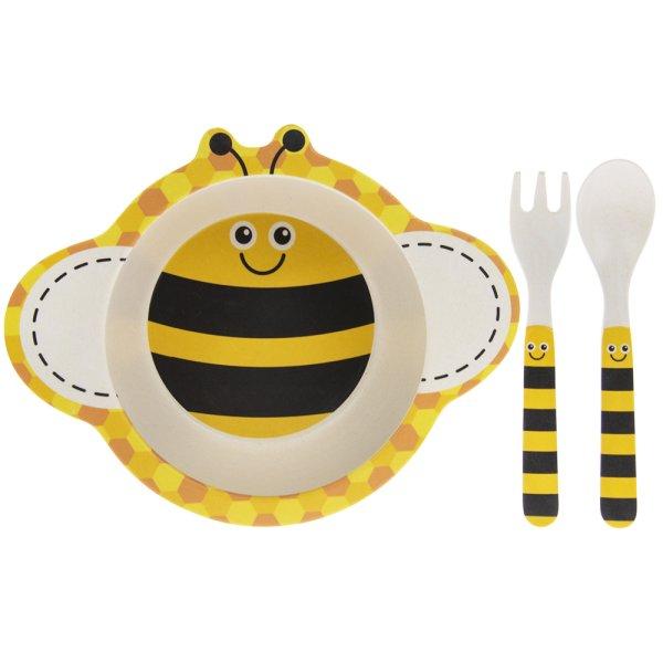BAMBOO BEE EATING SET