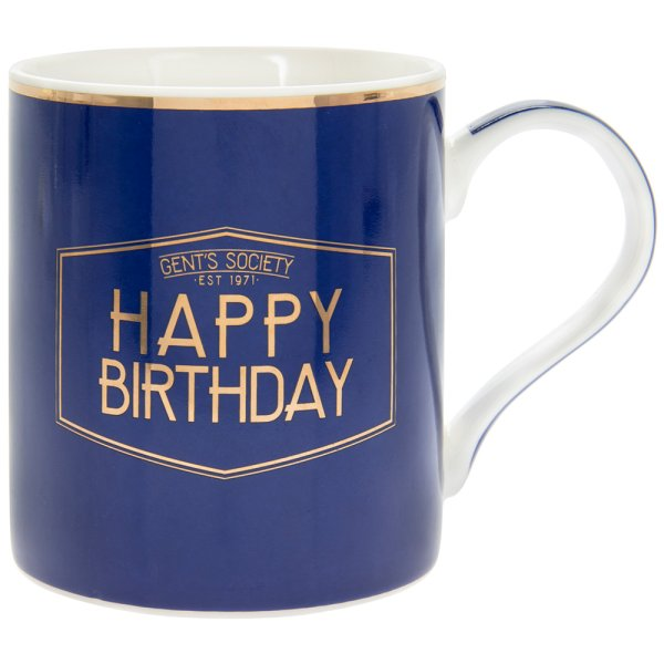 GENT'S SOCIETY HAPPY BDAY MUG