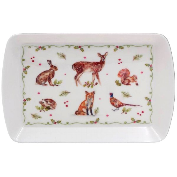WINTER FOREST TRAY SMALL