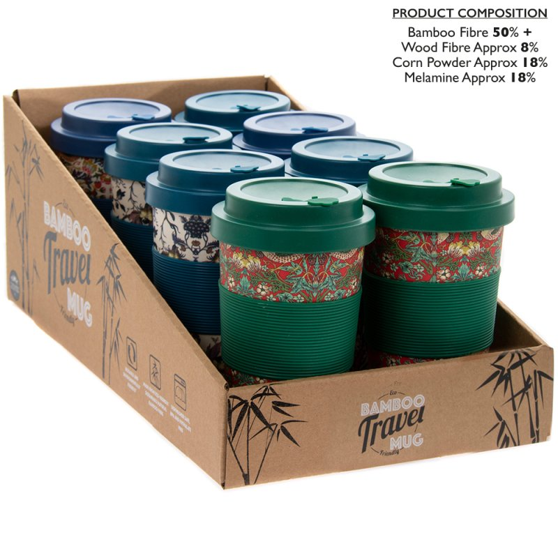 BAMBOO TRAVEL MUG WM 4AS 350ML