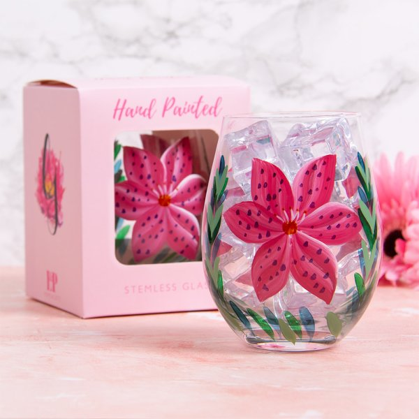 LILY STEMLESS GLASS