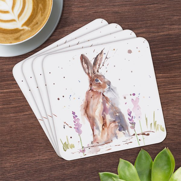 COUNTRY LIFE HARE COASTERS S4