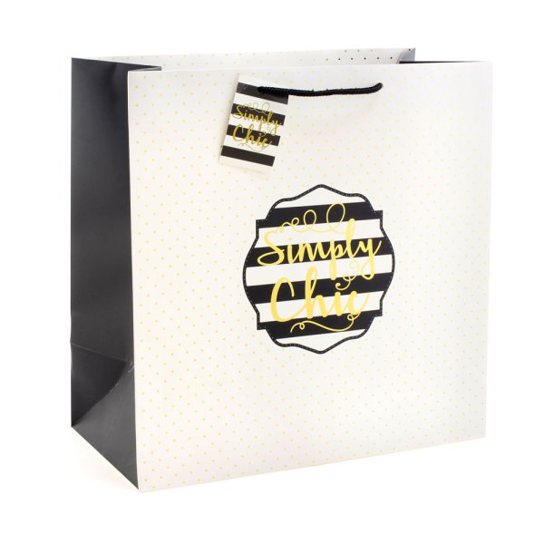 SIMPLY CHIC GIFT BAG LARGE