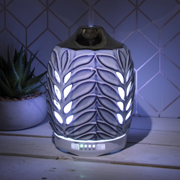 SILVER/LEAF HUMIDIFIER