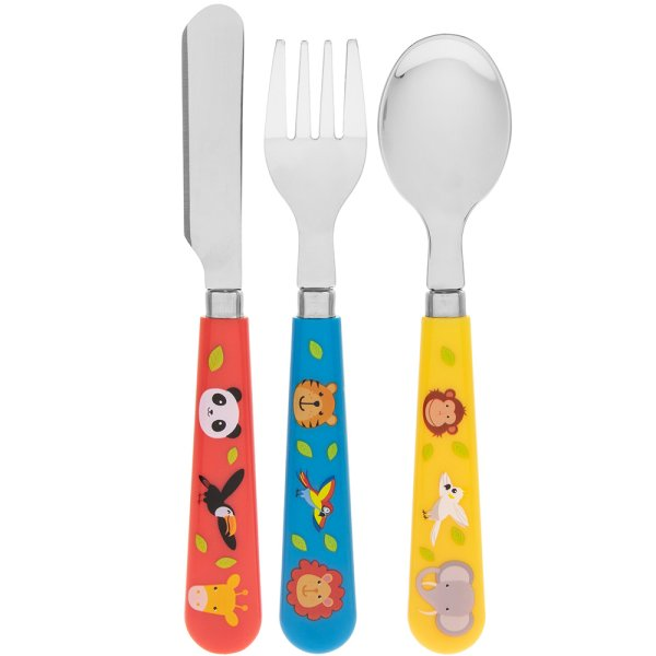 LITTLE STARS ZOO ANIMALCUTLERY