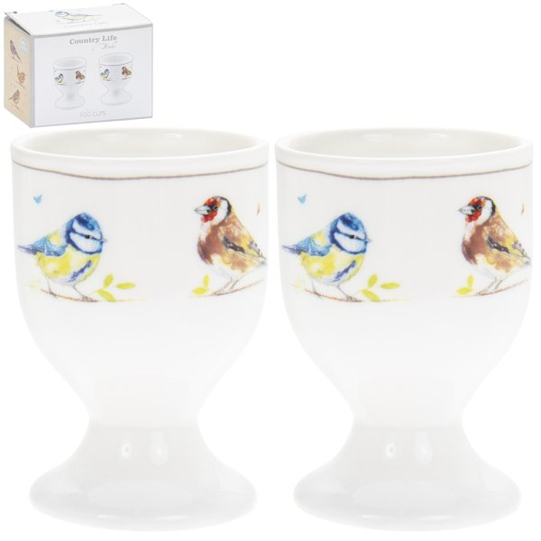 COUNTRY LIFE BIRDS EGG CUPS