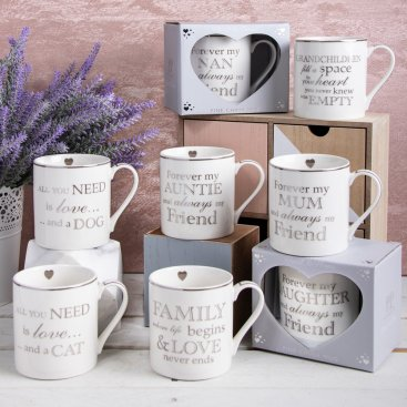 HEART TO HOME MUGS
