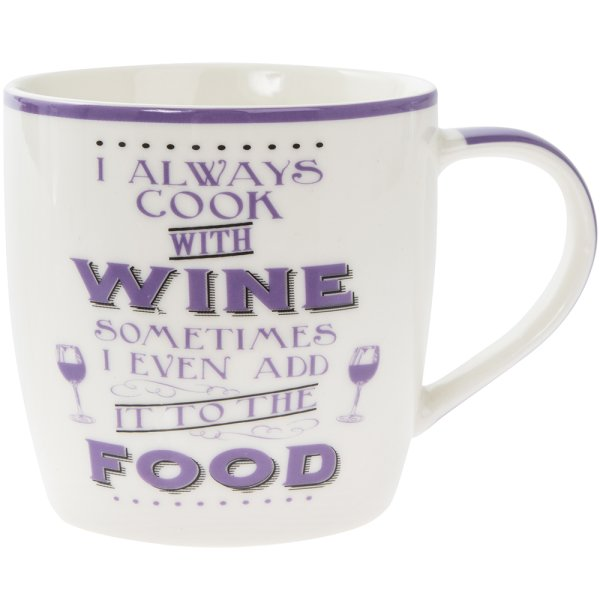 COOK WITH WINE MUG