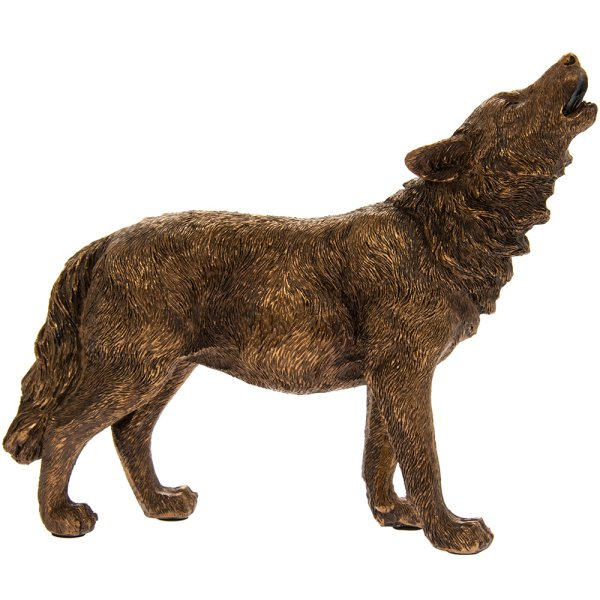 REFLECTIONS BRONZED WOLF