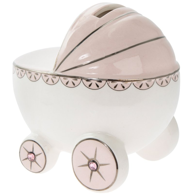 PINK PRAM MONEY BANK