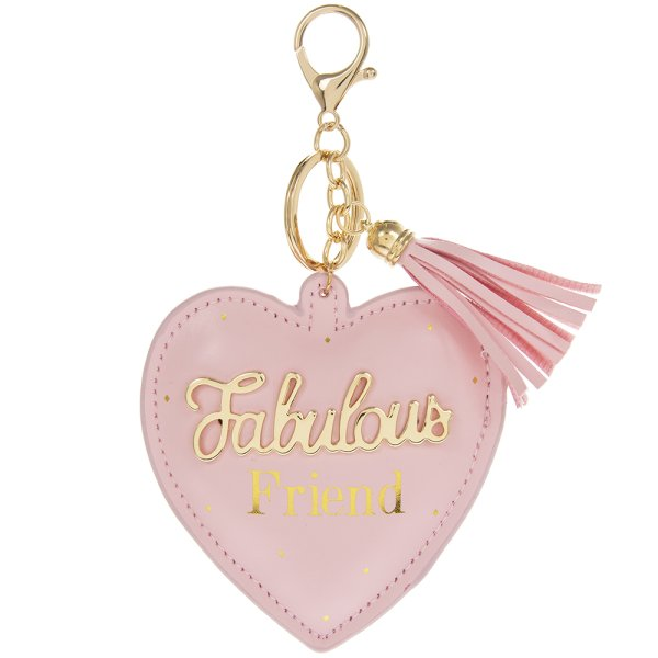 OH SO CHARMING FRIEND KEYRING