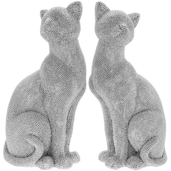 SILVER ART CAT SITTING 2 ASST