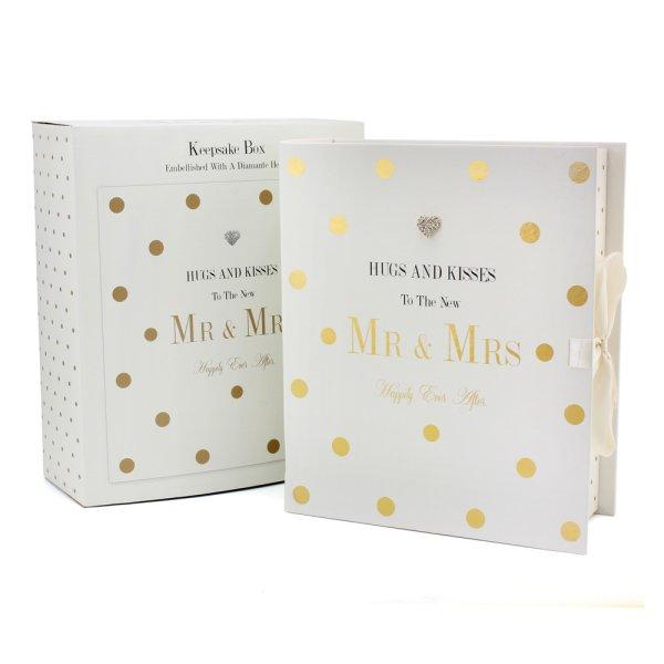 MAD DOTS MR&MRS KEEPSAKE BOX