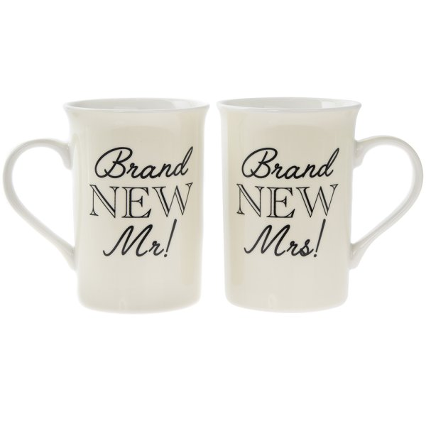 BRAND NEW MR&MRS MUGS SET2