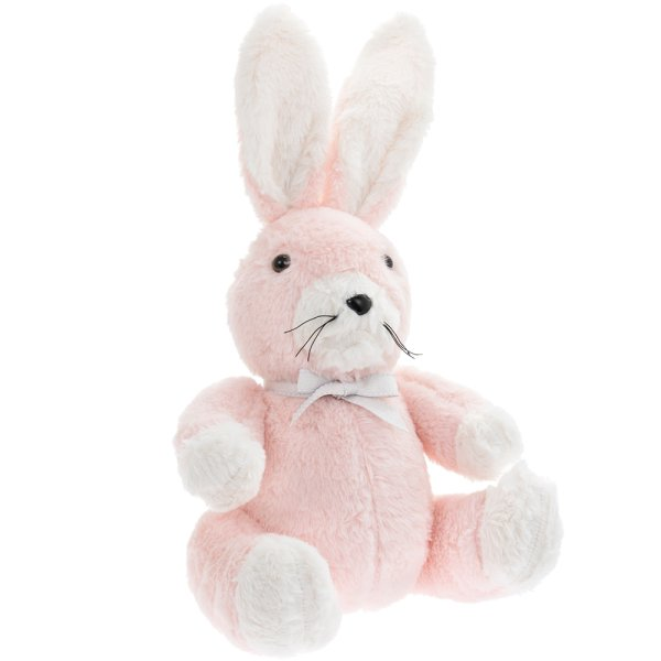 PINK RABBIT DOORSTOP