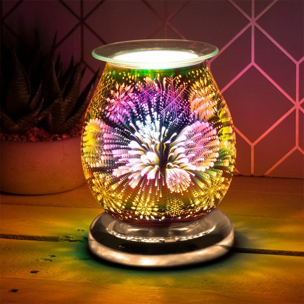 3D GOLD SNOWFLAKE AROMA LAMP