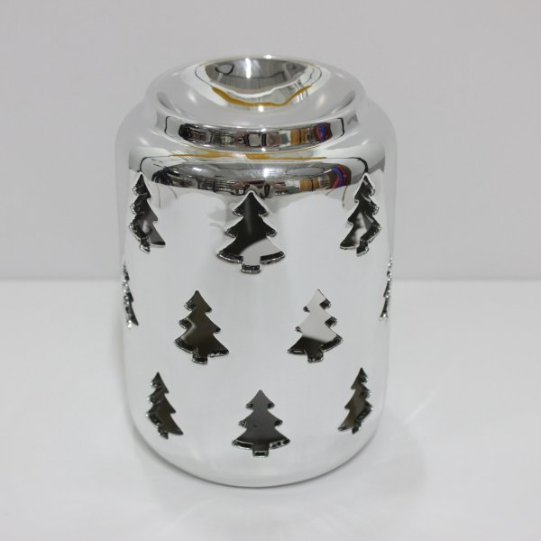 XMAS TREE SIL WAX WARMER 10CM