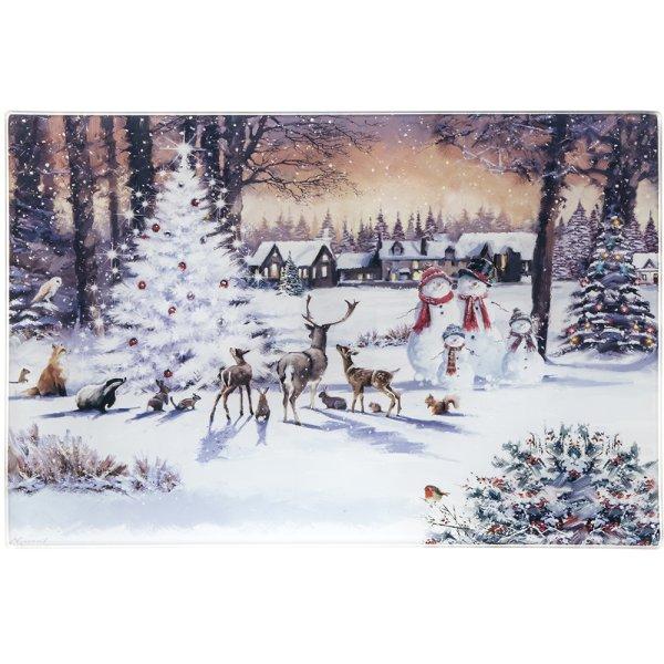 MAGIC CHRISTMAS CUT BOARD SML
