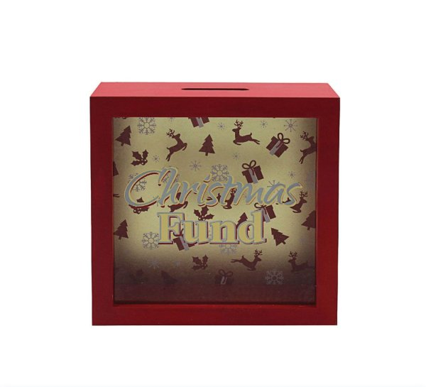 CHRISTMAS MONEY BOX