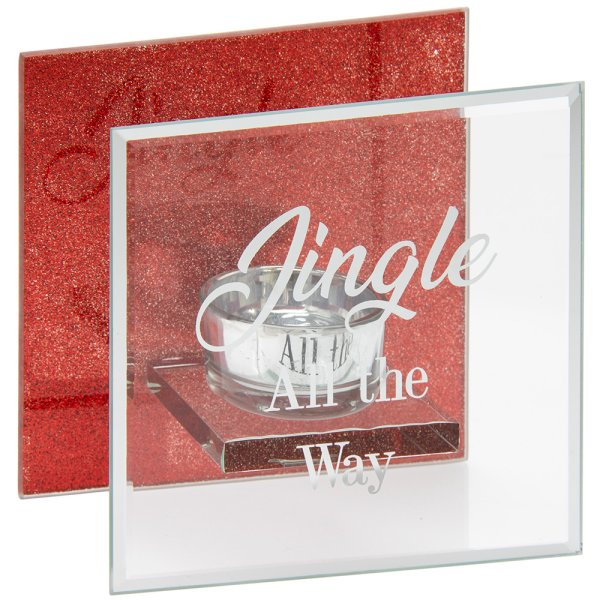 JINGLE ALL THE WAY TEA LIGHT
