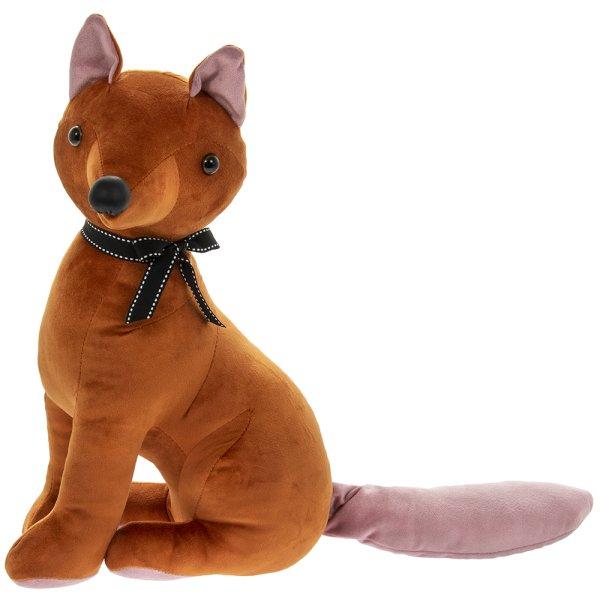VELVETEEN FOX DOORSTOP