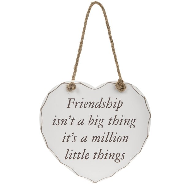 FRIENDSHIP BIG THING PLAQUE