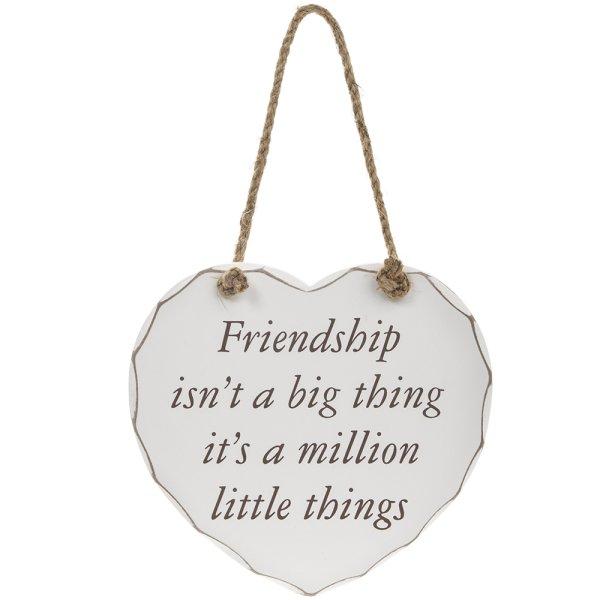 FRIENDSHIP BIG THING PLAQUE