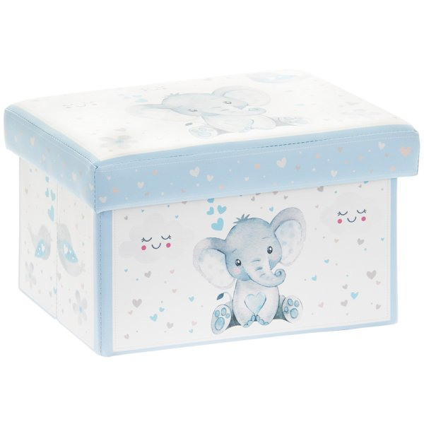 BIRD & ELLIE STORAGE BOX BLUE