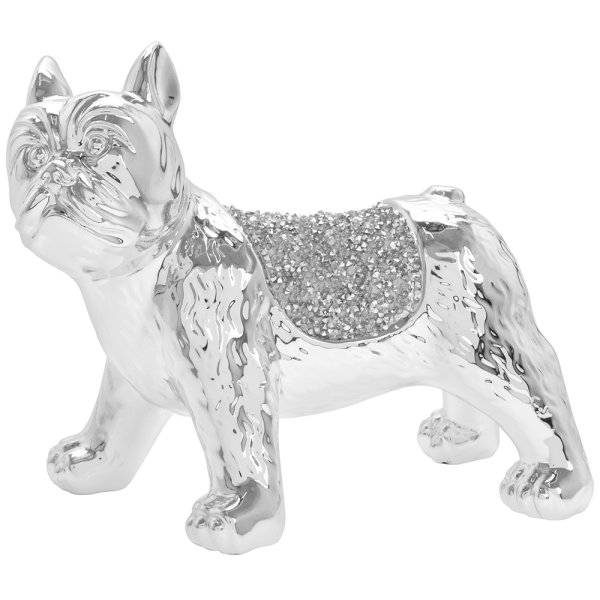 SILVER SPARKLE FRENCH BULLDOG
