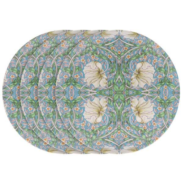 PIMPERNEL BAMBOO PLATE S4